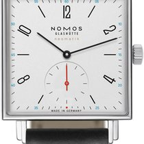 NOMOS Tetra Neomatik Steel 39mm White United States of America, New York, Airmont