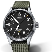 Oris Big Crown ProPilot GMT 01 748 7710 4164-07 5 22 14FC Oris SMALL SECOND GMT Nero new