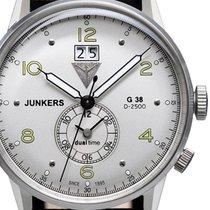 Junkers 42mm Quarz neu G38 Silber