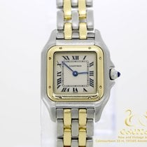 Cartier Panthère Gold Steal Quartz 21mm 13200 with Box