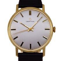Certina Gold Watch 18K cal.25-66   1965