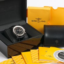 Breitling Navitimer World GMT Box & UK Papers Full set