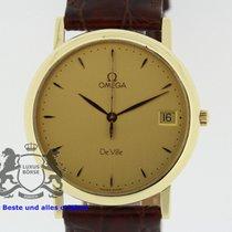 Omega De Ville solid 18K Yellow Gold 196.2432