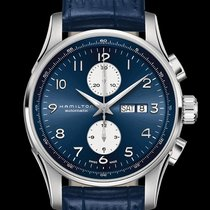 Hamilton Jazzmaster Maestro new Automatic Chronograph Watch with original box and original papers H32766643