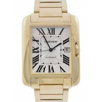 Cartier Tank Anglaise Yellow gold 47mm Silver United Kingdom, Blackburn