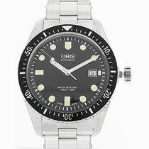 Oris Divers Sixty-Five 42mm Black Dial Steel Strap