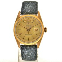 Rolex 1803 Geelgoud 1961 Day-Date 36 36mm tweedehands Nederland, Amsterdam