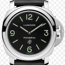 Panerai Luminor Base Logo Steel 44mm Black Arabic numerals UAE, Dubai
