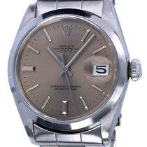 Rolex Oyster Perpetual Date Steel Grey Dial Vintage 34 mm (1978)
