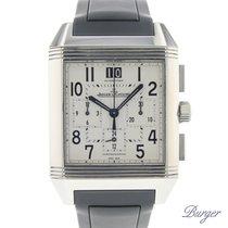 Jaeger-LeCoultre Reverso Squadra Chronograph GMT occasion 35mm Acier