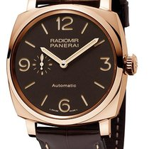 Panerai Radiomir 1940 3 Days Automatic 45mm Braun Arabisch