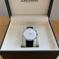 Junghans Chronographe 40mm Remontage automatique 2018 occasion max bill Chronoscope Argent