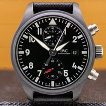 IWC Pilot Chronograph Top Gun 44.5mm Fekete Arab