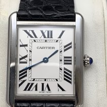 Cartier 2715 Staal Tank Solo 27mm