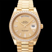 Rolex 228348RBR Yellow gold Day-Date 40 new