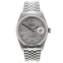 Rolex Datejust Zilver 36mm Zilver