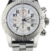 Breitling A13370 Steel Super Avenger 48mm pre-owned United States of America, Illinois, BUFFALO GROVE
