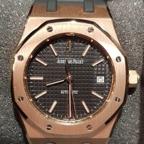 Audemars Piguet Royal Oak Selfwinding Rose gold 39mm Black No numerals United Kingdom, London