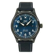 IWC Ceramic Automatic Blue Arabic numerals 41mm pre-owned Pilot Mark