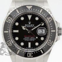 Rolex Sea-Dweller Stahl 43mm Rot Keine Ziffern Schweiz, Zürich