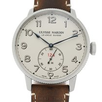 Ulysse Nardin Marine Torpilleur Steel 44mm White Arabic numerals United States of America, New York, New York