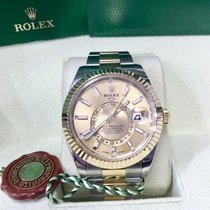 Rolex Sky-Dweller Gold/Steel 42mm Champagne No numerals United States of America, Florida, MIAMI