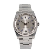 Rolex Air King Steel 34mm Grey