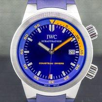 IWC Aquatimer Automatic Steel 42mm Blue Arabic numerals United States of America, Massachusetts, Boston