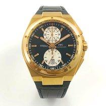 IWC Big Ingenieur Chronograph Oro rosado 45,5mm Negro Sin cifras