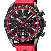 Festina Steel 44mm Quartz F20351/6 new