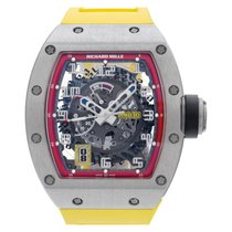 Richard Mille RM 030 Titanium 40mm Doorzichtig Arabisch