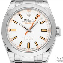 Rolex Milgauss Steel 40mm White