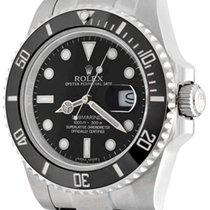 Rolex Submariner Date 41mm Schwarz Keine Ziffern