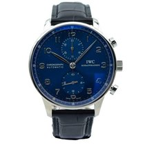 IWC Portuguese Chronograph new Automatic Watch with original box and original papers IW371491