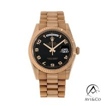 Rolex Day-Date 36 Rose gold 36mm Black Arabic numerals United States of America, New York, New York