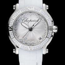 Chopard Happy 36mm Quartz  Silver Guilloché  Dial RO