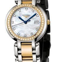 Longines PrimaLuna Gold/Steel 30mm Mother of pearl United States of America, New York, Airmont