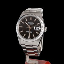 Rolex Oyster Perpetual Datejust Steel Men Size