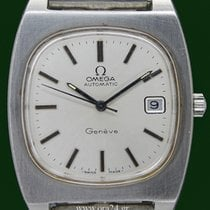 Omega Geneve Oversized Automatic Date Cal 1012 Stainless Steel