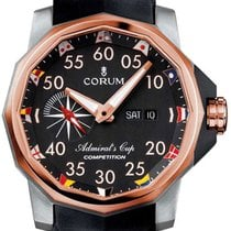 Corum Admiral's Cup Competition 48 Titanium & 18k Rose...
