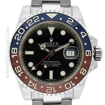 Rolex 18k white gold GMT-Master II