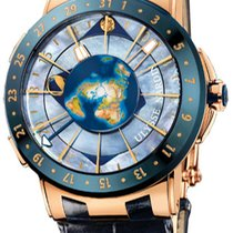 Ulysse Nardin Moonstruck Rose gold Mother of pearl United States of America, New York, Brooklyn
