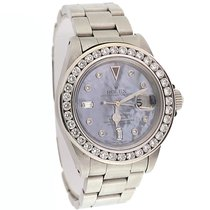 Rolex Submariner Date Steel 40mm Mother of pearl No numerals United States of America, New York, New York