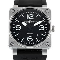 Bell & Ross 42mm Automatic 2012 pre-owned BR 03 (Submodel) Black
