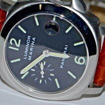 Panerai PAM00048 Steel Luminor Marina Automatic 40mm pre-owned United States of America, New York, Greenvale