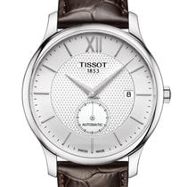 Tissot Tradition Steel 40mm Silver No numerals