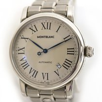Montblanc 40mm Automatic pre-owned White
