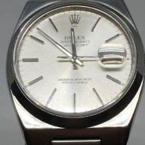 Rolex Datejust Oysterquartz Acier 36mm Argent Sans chiffres France, rhone alpes