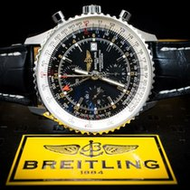 Breitling A2432212/B726 Steel 2015 Navitimer World 46mm pre-owned United States of America, New York, Williston Park