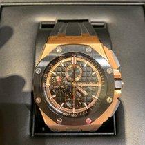 Audemars Piguet Royal Oak Offshore Chronograph Oro rosa 44mm Nero Senza numeri Italia, Cremona